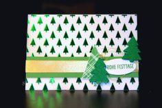Christmas Card, carte de Noël, Weihnachtskarte, tarjeta de Navidad, Fröhliche Stunden, Freude zur Weihnachtszeit, Holidays Fancy Foil Designer , Designerpergament mit Prägedesign Winterfantasie, Gold Metallic Thread,  Garn Metallic Flair Gold, Christmas Tree, Weihnachtsbaum, Gold, Berlin Stampin' Up!, SU   https://stempelnstanzenstaunen.wordpress.com/