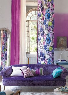 Oriana Fabric from Designers Guild