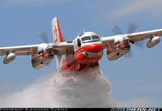 France - Securite Civile - De Havilland Canada CS2F/Conair Turbo Firecat