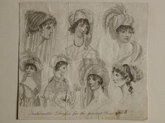 Museum of London | ENGRAVING Fashionable Dresses for the present Year 1803 Production Date: 1803 ID no: 2002.139/1393