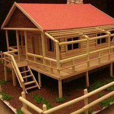 Maket evler house