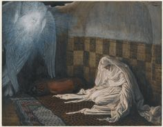 The Annunciation (L'annonciation) : James Tissot : Free Download & Streaming : Internet Archive