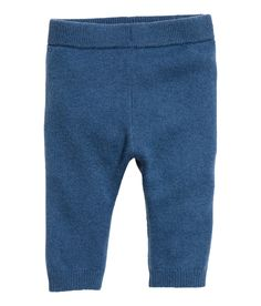 Check this out! BABY EXCLUSIVE/PREMIUM QUALITY. Fine-knit pants in the softest cashmere. Elasticized waistband and ribbed hems. - Visit hm.com to see more.