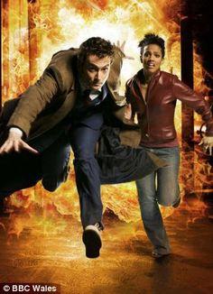 Colonialist: David Tennants Doctor Who with Freema Agyeman as his first black companion, Martha Jones