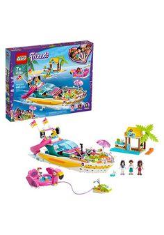 Lego Friends Party, Lego Friends Sets, Lego Construction, Baby Girl Toys, Buy Lego, Lego Models, Boat Building, Imaginative Play, Legos