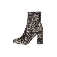 TopShop Merlot Sequin Boots ($110) ❤ liked on Polyvore featuring shoes, boots, multi, topshop boots, topshop shoes, embroidered boots, high heeled footwear and high heel boots