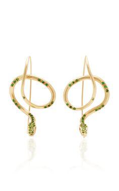 18K Gold Butterfly Wing Earrings Annette Ferdinandsen XlzgV3