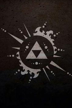 The Legend of Zelda - me gustó cómo para tatuaje :)