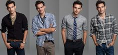 "I can see my man in these looks. this is my goal to turn my husband into a ""preppy boy"" as he says"