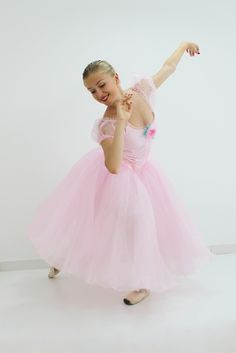 """Inspired by the costumes worn by Taglioni, Grisi, Grahan abd Cerrito in the famous """"Grand Pas de Quatre"""", this Romantic tutu can be made in pink, white or any other color. The bodice is a fully profes"""