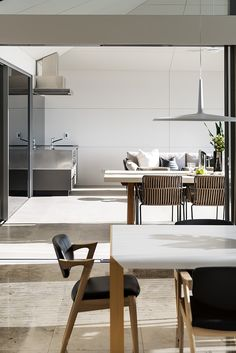 """Alfresco and Dining furniture in """"Refined Light"""" designed by Greg Davies Architects, built by Urbane Projects Greg Davies, Dining Furniture, Lighting Design, Luxury Homes, Architects, Building, Table, Projects, Home Decor"""
