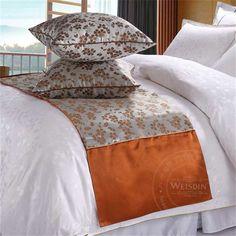 Hotel polyester bed runner