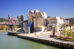 The Guggenheim Bilbao (Frank Gehry, Basque Country, Spain, Frank Gehry, Contemporary Architecture, Art And Architecture, Musée Guggenheim Bilbao, Barcelona, Basque Country, Destinations, Most Visited, Culture