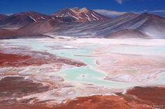 Salar de Aguas Calientes, Atacama, Chile, San Pedro de Atacama