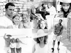 "Kerr Smith, Michelle Williams, and Meredith Monroe portray the characters of Jack McPhee, Jen Lindley, and Andie McPhee respectively in the tv show ""Dawson's Creek""......."