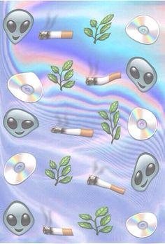 Grunge weed high twitter background shizz