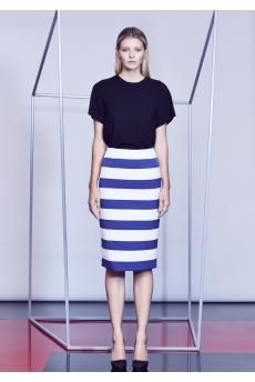 The Club Card Top and Moderator Skirt from the SS14 collection by CAMILLA AND MARC.