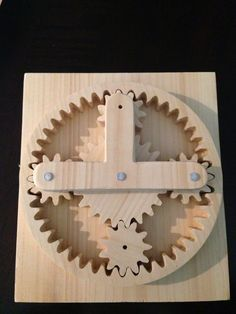 Functional gears...cnc!