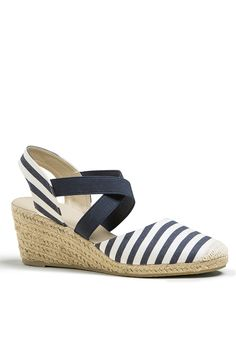 At Miladys, we think women are fabulous. We think you deserve to look your best – and feel great while doing it. Striped Espadrilles, Nautical Fashion, Shoe Shop, Fashion Online, Fashion Accessories, Clothes For Women, Lady, Womens Fashion, Shopping