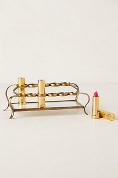 How cute is this Tiered Vestige Cosmetics Holder! Reminds me of my mom's in the 80's!  #anthropologie