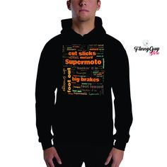 Supermoto Hoodie | Supermoto Gift | Supermoto Fans Gift | Supermoto Words | Supermoto Terms | Cool Supermoto Gift | Coworker Gift Gifts For Coworkers, Your Boyfriend, Hoodies, Sweatshirts, American Apparel, Funny Tshirts, Retro Fashion, Vintage Outfits, Supermoto Racing