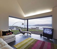 Colbost House: Dualchas Architects reinvent the Scottish black shed on the Isle of Skye Contemporary Architecture, Contemporary Interior, Interior Architecture, Interior And Exterior, Architecture Wallpaper, Diy Interior, Black Shed, Black House, Island Of Skye