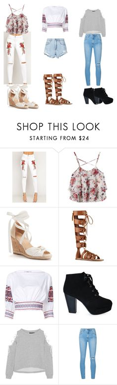 """""""My fav outfits"""" by jennachurch ❤ liked on Polyvore featuring WearAll, Apt. 9, Nine West, TIBI, W118 by Walter Baker and Nobody Denim"""
