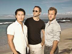 The Men of Hawaii 5-O