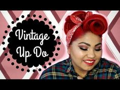 How to: Barrel Roll and Poodle updo hair tutorial – Hair Styles High Bun Hairstyles, Roll Hairstyle, 1940s Hairstyles, Hairstyle Ideas, Vintage Hairstyles Tutorial, Wedding Hairstyles Tutorial, Victory Roll Hair, Victory Rolls, Vintage Bangs