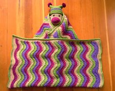 Ravelry: Project Gallery for Pink Ripple pattern by Jan Eaton
