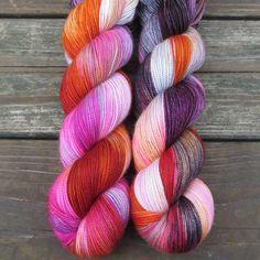 Deep Sea Jellyfish - Yummy 2-Ply - Babette   Miss Babs Hand-Dyed Yarns & Fibers, Inc.