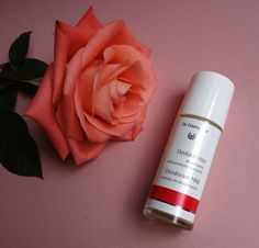 Dr Hauschka natural deodorant  with a lovely rose fragrance. Green/Organic Beauty