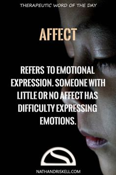 It is easy to confuse affect with effect. Effect is the result of an action…