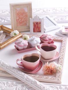 Love Latte Art  Love Coffee Art.  Lovely Heart with Creativity.  ❤