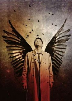 Castiel / Misha Collins / Supernatural fan art edit