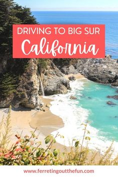 The best stops on a Carmel to Big Sur road trip on the Pacific Coast Highway // #California #Highway1 #traveltips Travel Advice, Travel Guides, Travel Tips, Places To Travel, Travel Destinations, Fun Adventure, Pacific Coast Highway, Road Trippin, Amazing Adventures