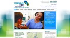 Beautiful health service website - Country North SA Medicare Local uses JSN Dome, JSN ImageShow & PhocaMaps