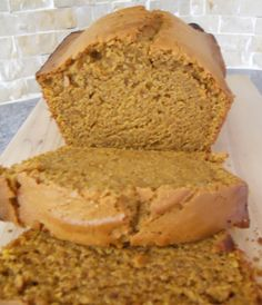 Granny's Moist Pumpkin Bread Recipe--this needs a bit more spice---I added 1/4 t of pumpkin pie spice--for more of a kick. :)