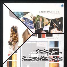 Progettazione Stand Première Vision Paris - 13-15 Settembre #labeltexgroup #graphicstudio #atwork #working #trend #inspiration #labelling #stand