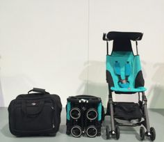 GB Pockit Stroller - the Stroller with the Smallest Fold EVER! - I'm willing to own a stroller now. Don't want a huge, bulky one. #christmaslist But I'll probably just get a $20 Walmart umbrella stroller for less than 10% of the price...