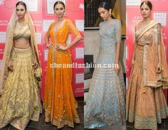 Fashion designer Anita Dongre bridal outfit collections