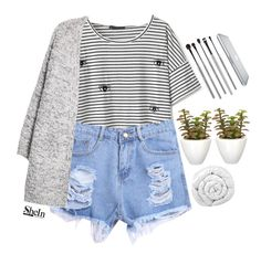"""""""#SheIn"""" by credentovideos ❤ liked on Polyvore featuring Pomax, MANGO, Brinkhaus and esum"""