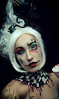 Alice In Wonderland makeup ideas for Halloween