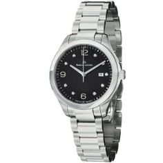 Maurice Lacroix Miros Ladies Stainless Steel Black Diamond Dial Watch MI1014-SS002-350 Maurice Lacroix. $894.99. Save 40% Off!