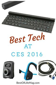 Looking for the best products released at the Consumer Electronics Show this year? Here is the Best Tech at CES 2016 - The Best of Life Magazine Techno Gadgets, High Tech Gadgets, New Gadgets, Cool Gadgets, Cool Technology, Technology Gadgets, Medical Technology, Energy Technology, Cool Electronics