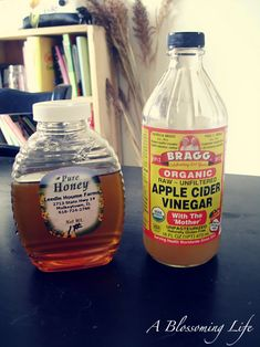 @Britta Nystul  Natural Allergy Relief Drink  1 Tbs local honey  1 Tbs raw organic apple cider vinegar  warm water