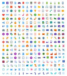 1600 Flat Color Icons by Icons8