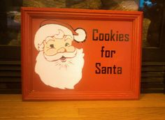 Check out this item in my Etsy shop https://www.etsy.com/listing/471282944/santa-cookie-tray-christmas-cookie-tray