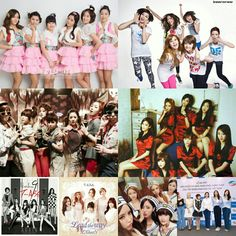 T ARA  2009~2016~forever The strength of the team is each individual member. The…