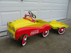Coca Cola Pedal Car | Collectors Weekly